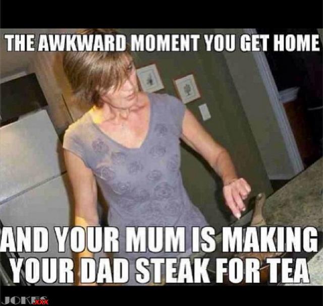 Meme moment when that awkward